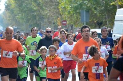 4.125 corredors, nou rècord a la Cursa Popular