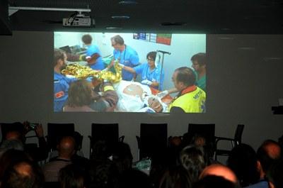 4DHealth: simulació davant la comunitat mèdica del país