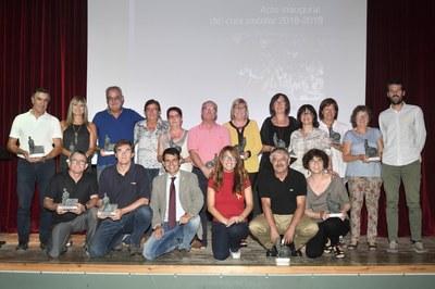 Acte inaugural del curs 2018/2019 a l'institut Pere Vives Vich