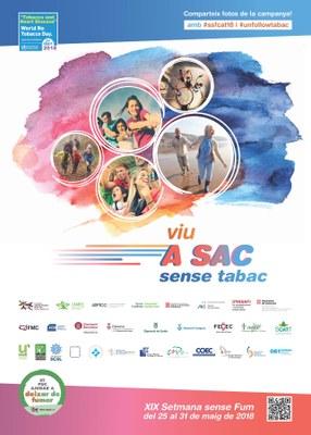 Activitats a Igualada per la Setmana sense Fum 2018