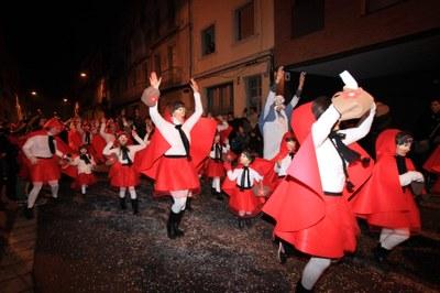 Aquest dissabte, 10 de febrer, Rua de Carnaval d'Igualada