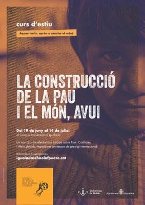 Aquest estiu, nou curs sobre Pau i Estudis Globals