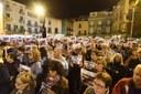 Concentració contra l'empresonament del Govern de Catalunya