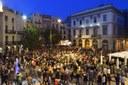 Concentració en defensa de les institucions catalanes
