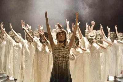 Cor de Teatre porta a l'Ateneu 'Troia, una veritable Odissea'
