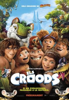 Cultura en Família projecta 'Els Croods'