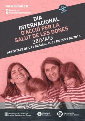 Dia d'Acció per la Salut de les Dones a la Conca d'Òdena