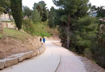 Millores als parcs de Vallbona i Valldaura i al barri de Fàtima