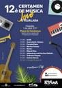 Dissabte, 1 de juliol, torna el Certamen de Música Jove