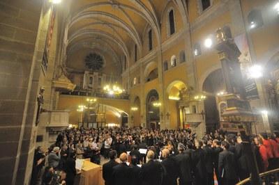 Dissabte, a Santa Maria, torna el 'Concert de Nadal'