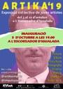 Dissabte s'inaugura la mostra artística col·lectiva Artika'19