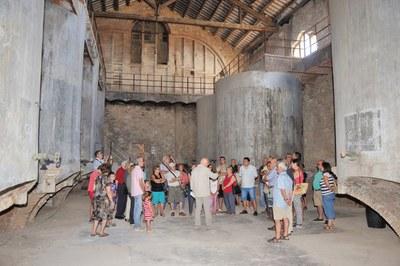 Dissabte, visita al celler del Sindicat de Vinyaters
