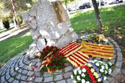 Diumenge, 15 d'octubre, homenatge al president Companys