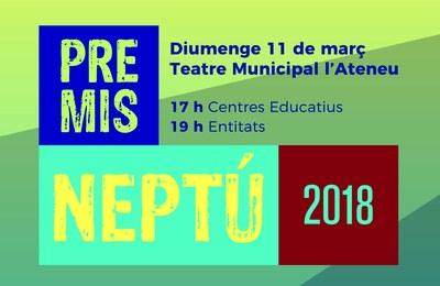 Diumenge vinent, gala dels Premis Neptú a Igualada