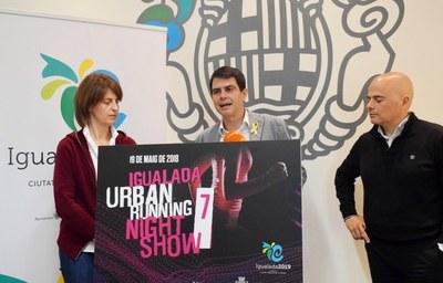 El 19 de maig, 7a edició de l'Igualada Urban Running Night Show