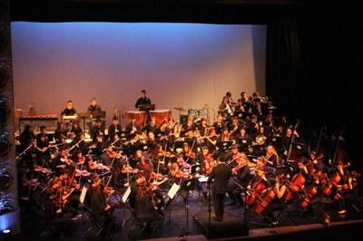 El 28 d'abril, concert de la JOSA amb Joaquim Font al piano