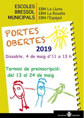 El 4 de maig, portes obertes de les llars d'infants municipals