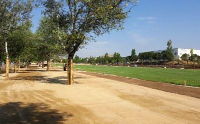 El 7 de juliol, inauguració del Parc Central d'Igualada
