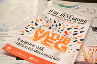 El 9 de setembre, primer festival Naturveg a Igualada