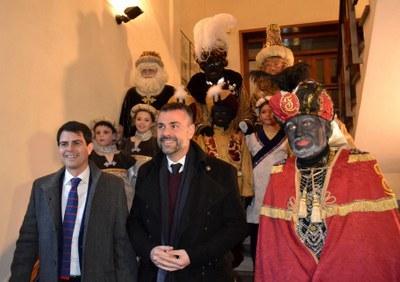 El conseller de Cultura assisteix a la Cavalcada de Reis