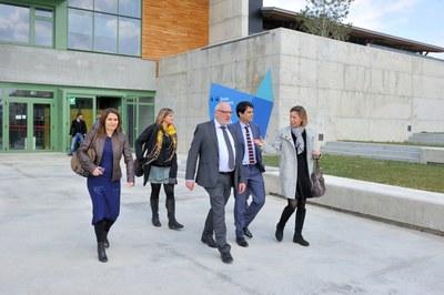 El conseller d'Empresa i Coneixement visita Igualada