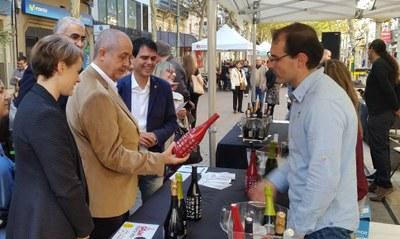 El conseller Felip Puig, a La Gran Festa del Vi