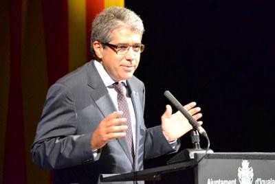 El conseller Homs, protagonista dels actes de la Diada a Igualada
