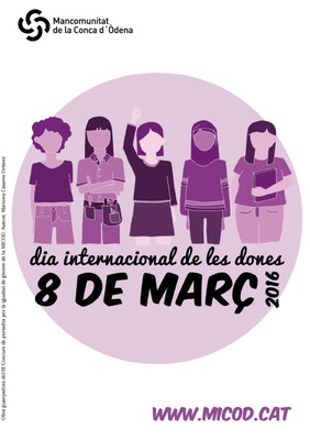 El Dia Internacional de les Dones, protagonista a la Conca d'Òdena