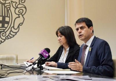 El govern municipal presenta el pressupost per a l'any 2018
