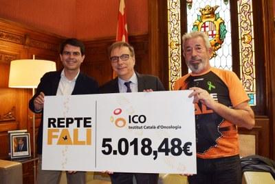 El 'Repte Fali' lliura més de cinc mil euros a l'ICO