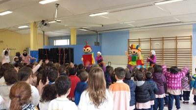 Els Esmolets del Saló de la Infància visiten les escoles d'Igualada