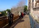 Estrena de la passera del Parc de Vallbona