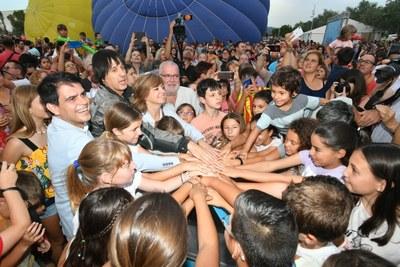 Estrena del nou Parc Central d'Igualada
