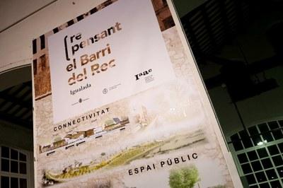 Exposició de projectes per al futur del barri del Rec