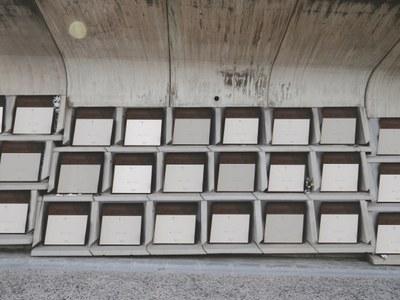 Exposició 'Seqüències Urbanes' de Guillem Elvira, al Museu de la Pell