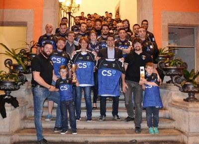 Felicitació a l'Anoia Rugby Club, campió de 3a Catalana