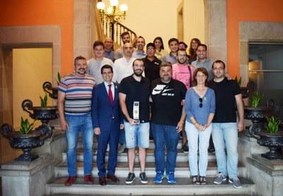 Felicitació a l'Igualada Vòlei Club pel seu ascens