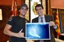 Felicitació al kitesurfer Albert Moreno