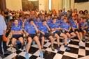 Felicitació als equips de base del CF Igualada