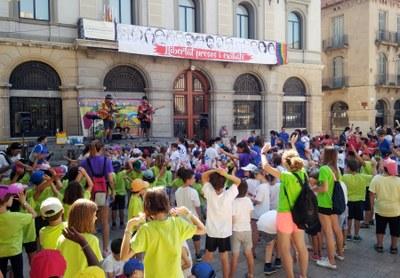 Festa d'inici dels casals d'estiu d'Igualada