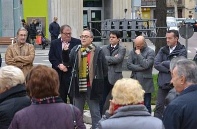 Homenatge al poeta Joan Llacuna