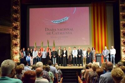 Igualada commemora la Diada Nacional de Catalunya