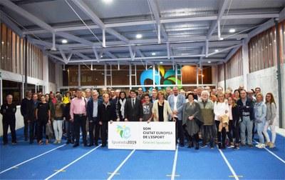 Igualada ja és Ciutat Europea de l'Esport 2019