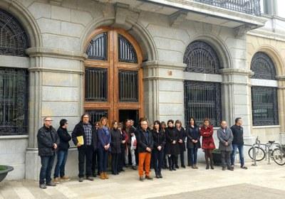 Igualada recorda les víctimes de l'accident de bus a Freginals