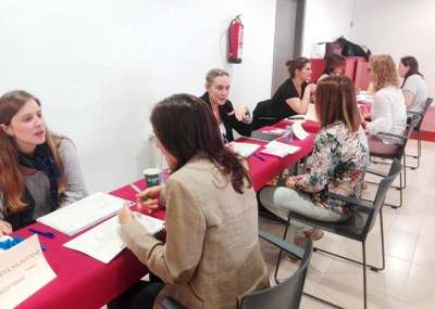 Jornada d'Speed Dating en el marc del projecte Atenea