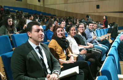 Joves d'Igualada presenten a Setúbal el projecte de Cal Badia