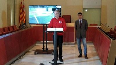 L'Ajuntament d'Igualada inicia una campanya de desinfecció dels carrers incrementant la neteja als punts clau de la ciutat