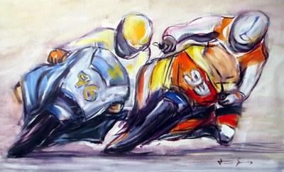 L'art de Toni Guix, a la Sala Municipal d'Exposicions