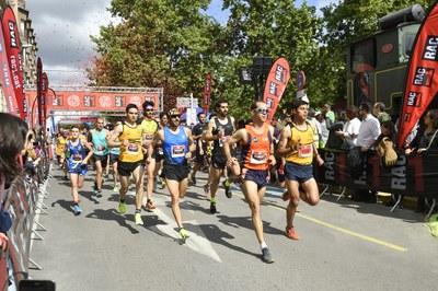 La 5a Cursa de RAC1 aplega dos mil corredors a Igualada