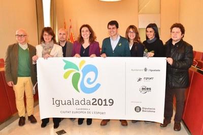 La Diputació fa costat a la candidatura de Ciutat Europea de l'Esport 2019